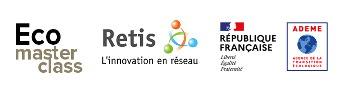 logo Réseau des entreprises du programme ECOMASTERCLASS ADEME RETIS
