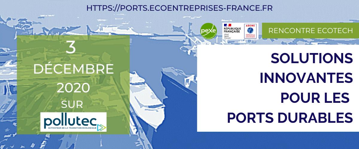 Rencontre Solutions innovantes pour les ports durables