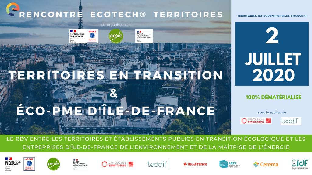 Rencontre territoires IDF en transition et éco-PME le 2 juillet