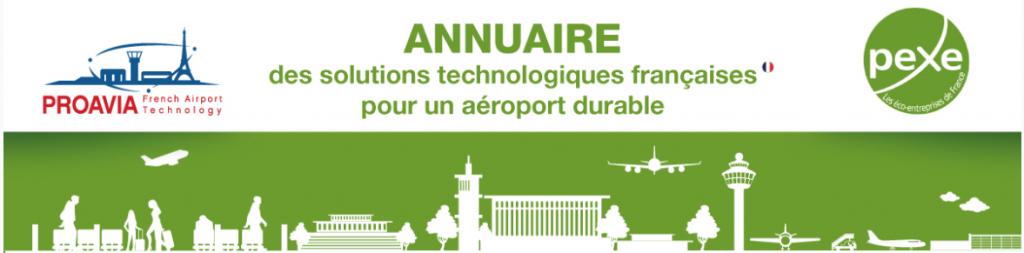 annuaire des solutions technologiques françaises pour un aéroport durable