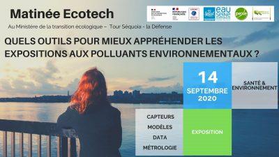 Bandeau rencontre Santé environnement 2020