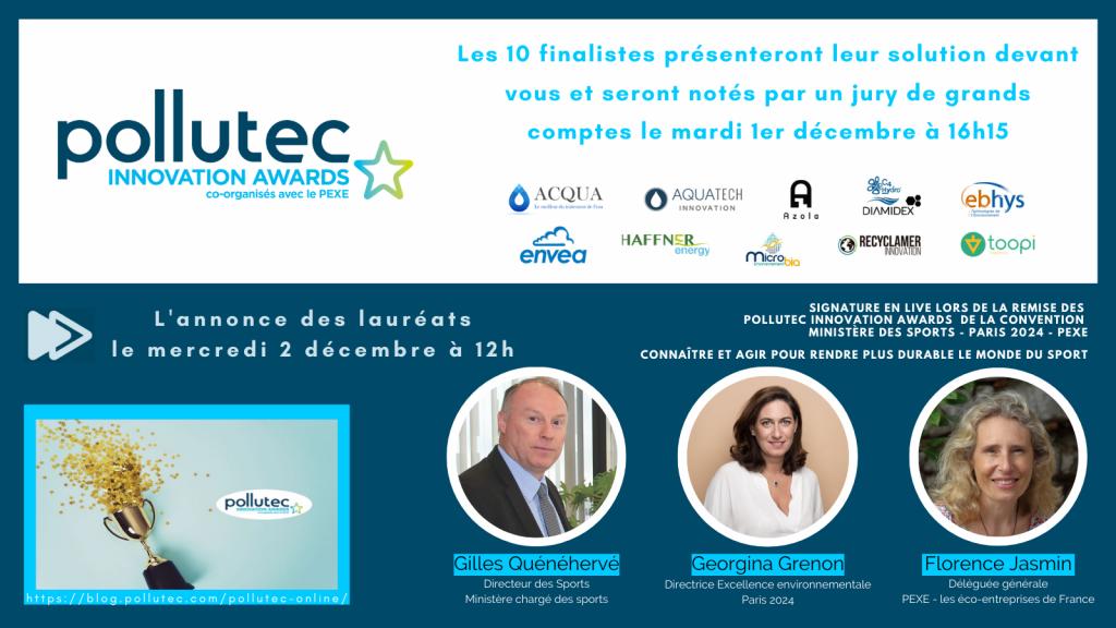 Pollutec innovation Awards 2020