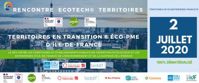 Bilan de la rencontre territoires idf / eco-PME 2020