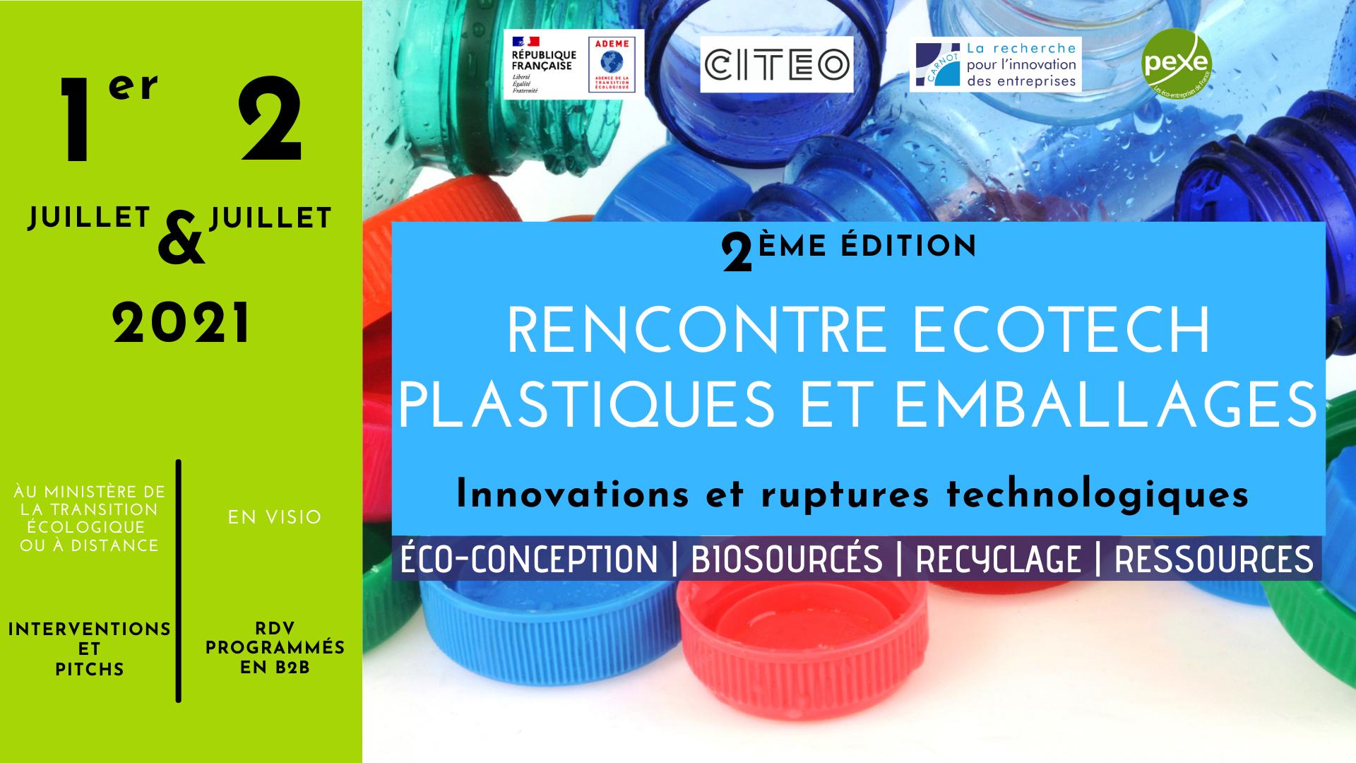 Rencontre ecotech Plastiques et emballages