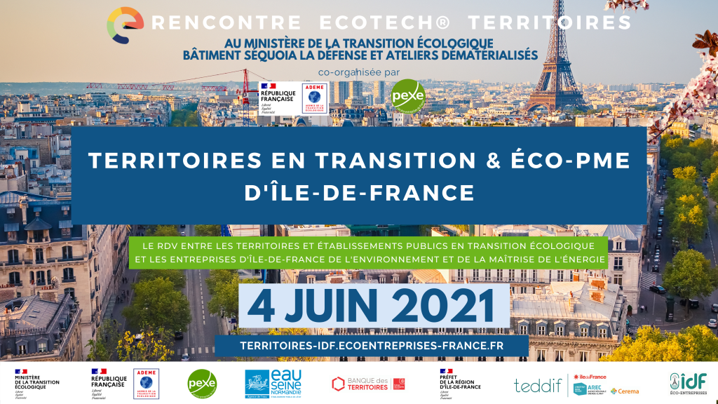 Rencontre territoires idf en transition et éco-PME