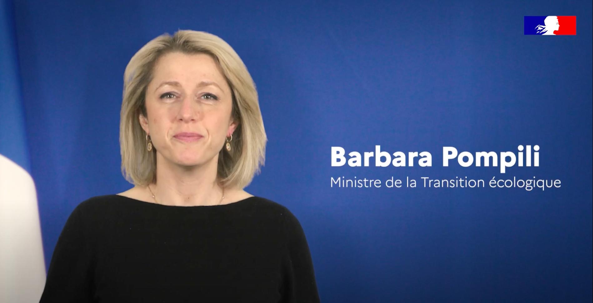 Intervention de Barbara Pompili au forum 2021
