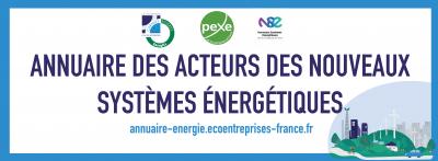 annuaire des acteurs des nouveaux systèmes énergétiques