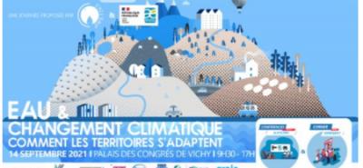 Cycl'eau Vichy, eau et changement climatique
